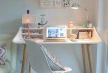 arbeitszimmer // homeoffice / Ein Homeoffice zum Wohlfühlen - Gestaltet mit Liebe zum Detail, lässt es die Ideen sprudeln