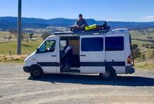 Discovering Australia / Traveling around Australia with a self made Campervan called Gilbette