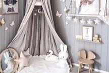 Kids Bedroom Decor / Spark their imaginations and create a space for them to play, learn and grow with these incredible kids room ideas. If you have space why not add a Darlings of Chelsea small sofa too - they'll love to use them to hang out with their friends.