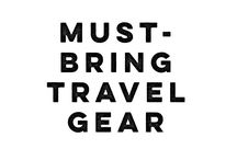 Must-bring travel gear