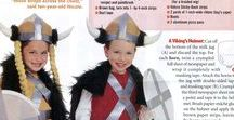 Aktiviteter Viking Barn / Games, Stories, Lessons, Funnies, Arts & Crafts for Viking Kids ages 1 to 100.