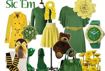 All things green and gold / by Danielle Frantz