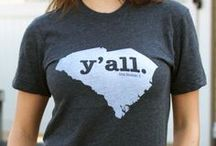 ❤ SOUTH CAROLINA / Shop BourbonandBoots.com by state! / by Bourbon & Boots