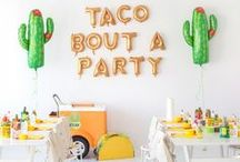 Easy party inspiration / We love a party this is easy, fun and cost effective.