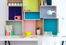 Home Organising / How to organise your house, kids rooms, storage ideas.