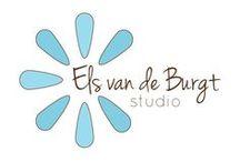 Els van de Burgt Studio / A whole board of cards created with products from Els van de Burgt Studio!