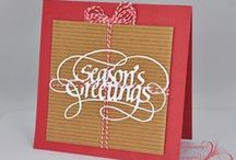 Suzanne Cannon, A Way With Words - Holiday Projects / by Elizabeth Craft Designs