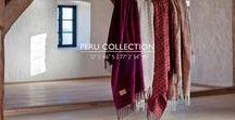 OS | Peru Collection / Alpaca blankets made in Lima, Peru.