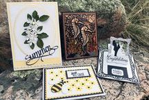 2016 Spring Release / Take a peek at some of the wonderful projects you can make with dies, stamps, and other goodies from the 2016 Spring Release (coming soon)! We have new products from Els van de Burgt Studio, Joset Designs, Karen Burniston Pop it Ups, Susan's Garden Club, and A Way With Words. We've also brought in 3 four-color sets of Prills for your Susan's Garden Club projects! / by Elizabeth Craft Designs