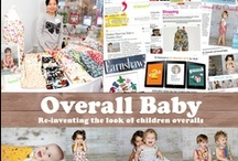 Overall Baby / All the wonderful items offered by Overall Baby. Overall Baby was started in 2006 by Jenny Kim and focuses on making overalls for infants and toddlers with a twist. Overall Baby overalls are not just practical but fashionable.