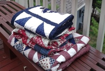 Sewing Ideas / Quilts, Sewing, Knitting, I always attempt to give credit to the artist with a link or in the comment. / by Aubrey Backscheider