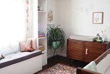 Nurseries + Little Kid Bedrooms / Inspired bedrooms for babies, toddlers, and little children.