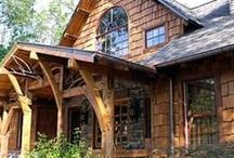 Mountain Home ideas / by Martha Collins