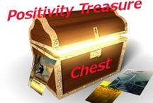 Positivity Treasure Chest / Your treasure chest full of golden positivity, inspiration, and encouragement coins.