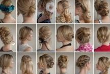 cabello peinado accesorios
