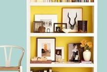 Bookcase and Shelving Ideas / Photos from around the web that I find inspiring, want to recreate in my own home or share with friends.