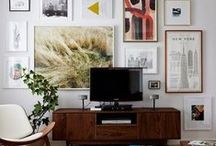 For the Walls / Art (and how to hang it)
