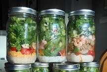 salads, ensaladas