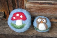 Wool/Felt Crafts / Not all posted are wool or felt crafts.  Some are ideas that I think can be adapted to wool or felt. / by Linda Frank