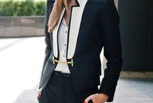 Work chic / It's better to be late than to arrive ugly...