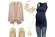 Mommy to be style / Baby bump chic!