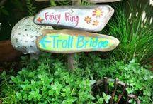 Garden Elves and Fairies / by Rhonda Smith