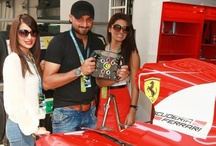 Formula 1 Indian GP - Sponsored by Hublot / 2012 Formula 1 Indian GP, Winners, Grid Girls, Bollywood and Sports Celebrities