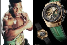 Hublot and World Boxing Council honor Legendary Boxers / On September 29th, 2012 the Bellagio Hotel, Las Vegas witnessed a reunion of 12 of the most fierce boxers the world has ever seen. In their honor, Hublot presented each one a luxury timepiece, the proceeds of which at the Bonhams Auction went to the WBC's pension fund; a remarkable USD 1 Million