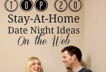 Date Night Ideas / Date Nights at home, out and about, from cheap to expensive. These are the best date night ideas ever!