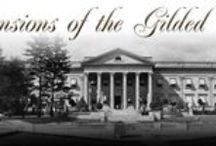 """Books/Film/TV The Gilded Mansions Collection / Books,Auction Catalogs,Clippings Movies and more about mansions and society from the period known as the,"""" Gilded Age"""". Many of the items are for sale at the, Gilded Mansions eBay store and others. Please visit my blogs, Mansions of the Gilded Age, Houses of the Hamptons. If you are on facebook,ask to join my group,Mansions of the Gilded Age on facebook. We have almost 3000 members!"""
