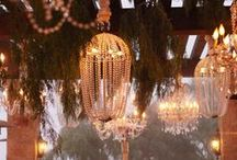 Lights / Lights, Camera, Action!  Stunning inspiration to light up your wedding venue