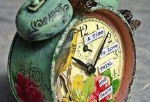 clocks / by Sara Johnson