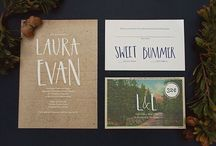 // invite // / I know that most of this board consists of wedding invitations and save-the-dates, but that doesn't mean that they can not be letters too! :) So essentially this board is just for lettering and format pinspiration / by aislynn p