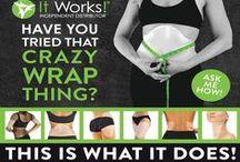 It Works Body Wraps / by Stephanie Sterling