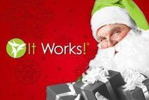 It Works Holiday Gift Packages / It Works Global just released our Holiday Gift Sets. There's something for everyone to Give the Gift of confidence, Beauty & Health.  Now is the perfect time to save even more & stock up on your favorite products at a huge discount. Get ready for Holiday Parties, Family, Friends.. it's a New Year, and a New You!!  / by Stephanie Sterling