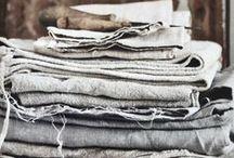 Linen / Linen, beds, dreamy fabrics
