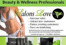 It Works Body Wraps for Salons & Spas / Are you a professional in the beauty, wellness, or fitness industry? The It Works Body Wraps Make the perfect add on service, or take home item that your clients will love, is a super-profitable income stream to bring more traffic, and referrals to your business. Perfect if you're a salon, or spa owner, stylist, technician, esthetician, make up artist, wedding professional, massage therapist, chiropractor, fitness coach, health club owner?  INFO: BodyWrapIncome.com / by Stephanie Sterling