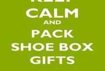 OCC shoebox / Operation Christmas Child shoebox / by Angelique Shearer