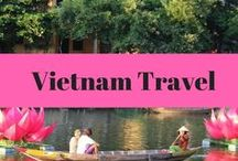 Vietnam Travel / Vietnam travel ideas and inspiration. Vietnam itineraries, things to do, places to see, Vietnamese food and Vietnam travel guides. Be inspired for your next Vietnam trip!
