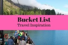 Bucket List Travel Inspiration / Travel inspiration for your Travel Bucket List. Amazing places in the world to see, amazing travel experiences.