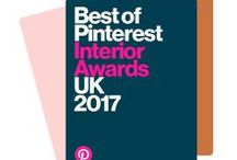 Interior Awards 2017 Info / Pinterest UK Interior Awards information. Follow the Pin links for press coverage and all the winners, runners-up and regional winners via the Pinterest UK blog. The Interior Awards were announced on Tuesday 16th May 2017. Huge congratulations to all the shortlist.