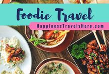 Foodie Travel / Follow Foodie Travel for all things food and travel. Experience top gourmet experiences while travelling | Food Tours | Wine Tours | Best Restaurants | Street Food | Foodie Destinations | Food Markets | Happiness Travels Here |