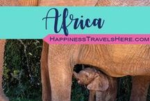 Africa / Follow Africa Board for family travel advice, tips and itineraries throughout Africa | South Africa | Safari with Kids | Malaria Free Africa | Animal Encounters | Wildlife | Elephants | Lions | Happiness Travels Here |
