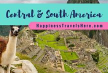 Central and South America / Follow Central and South America for top tips and destination guides for travelling to Central America, the Caribbean and South America | Mexico | Cuba | Jamaica | Peru | Guatemala Belize | Colombia Brazil | Argentina |  Family Travel Blog | Happiness Travels Here |