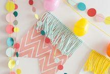 Party Ideen - Deko / hier findet ihr alles zu DIY Ideen, DIY, Selbermachen, Selber machen, Basteln, Selbstgemacht, Papier, Deko, DIY Party Ideen für deine nächste Party, Geburtstag, Feste, Feiern oder Silvester.