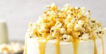 Popcorn - Rezepte / Hier findet ihr verschiedene und interessante Popcorn Rezepte für Kindergeburtstage und Partys.  Buntes Popcorn, Popcorn eunfärben, Popcorn mit Schokolade