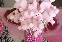 Marshmallows - Rezepte / Hier sammele ich verschiedene Rezepte mit Marshmallows.  Marshmallows selber machen, Marshmallows ohne Gelatine, Marshmallows auf Keksen und Kuchen