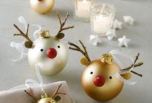 Weihnachten - kleine DIY / Hier findet ihr verschiedene lustige Ideen rund um Weihnachten. Z.B. Weihnachtsgeschenke schön verpacken oder lustige Weihnachtsmänner basteln.