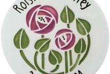 C. R. Mackintosh / Charles Rennie Mackintosh designs, ceramics and inspiration.