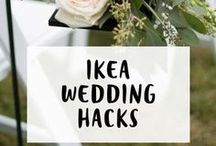 Wedding Inspiration / Clever and quirky wedding ideas